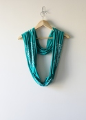 ScarfPrintedTurquoise